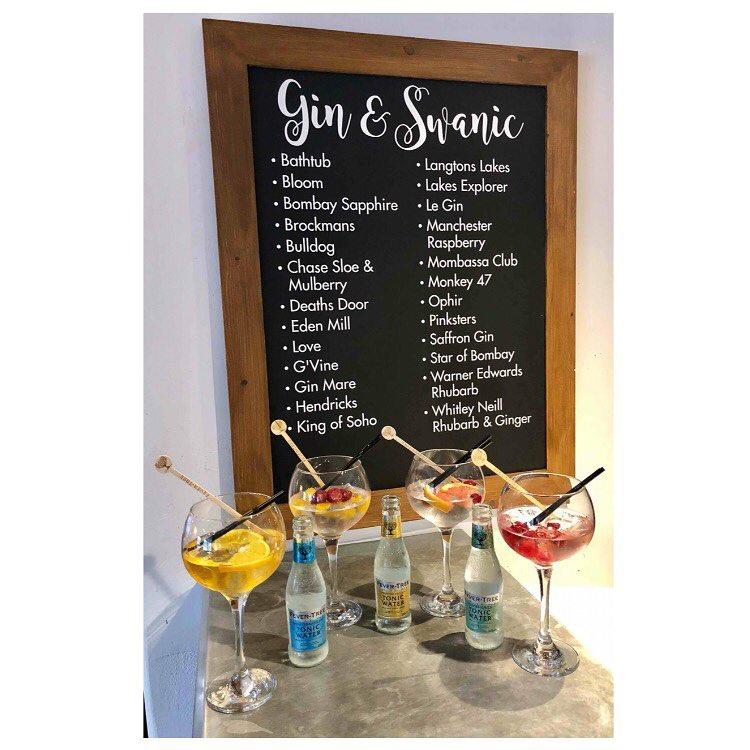 Swan Hotel gin