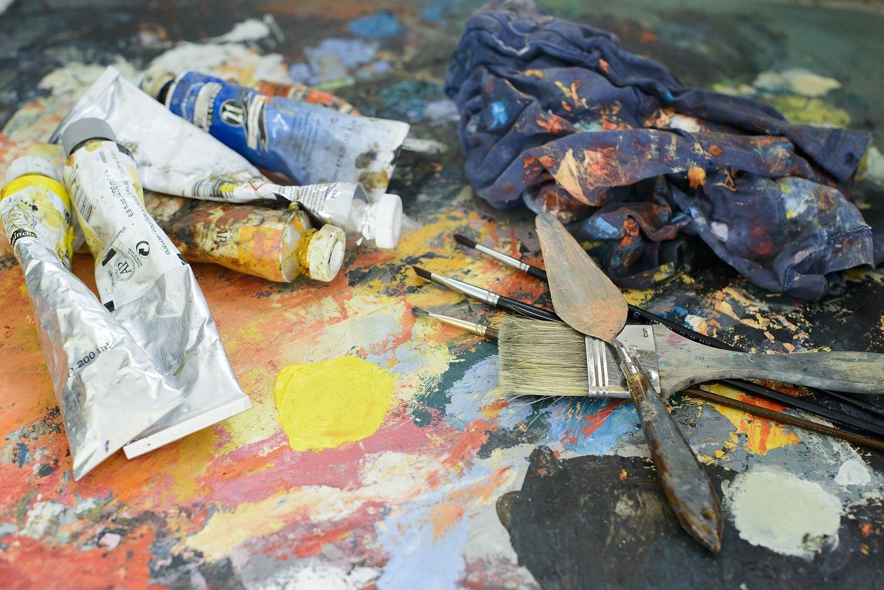 Palettes, Paint and Brushes! Let's get arty in the Lakes!