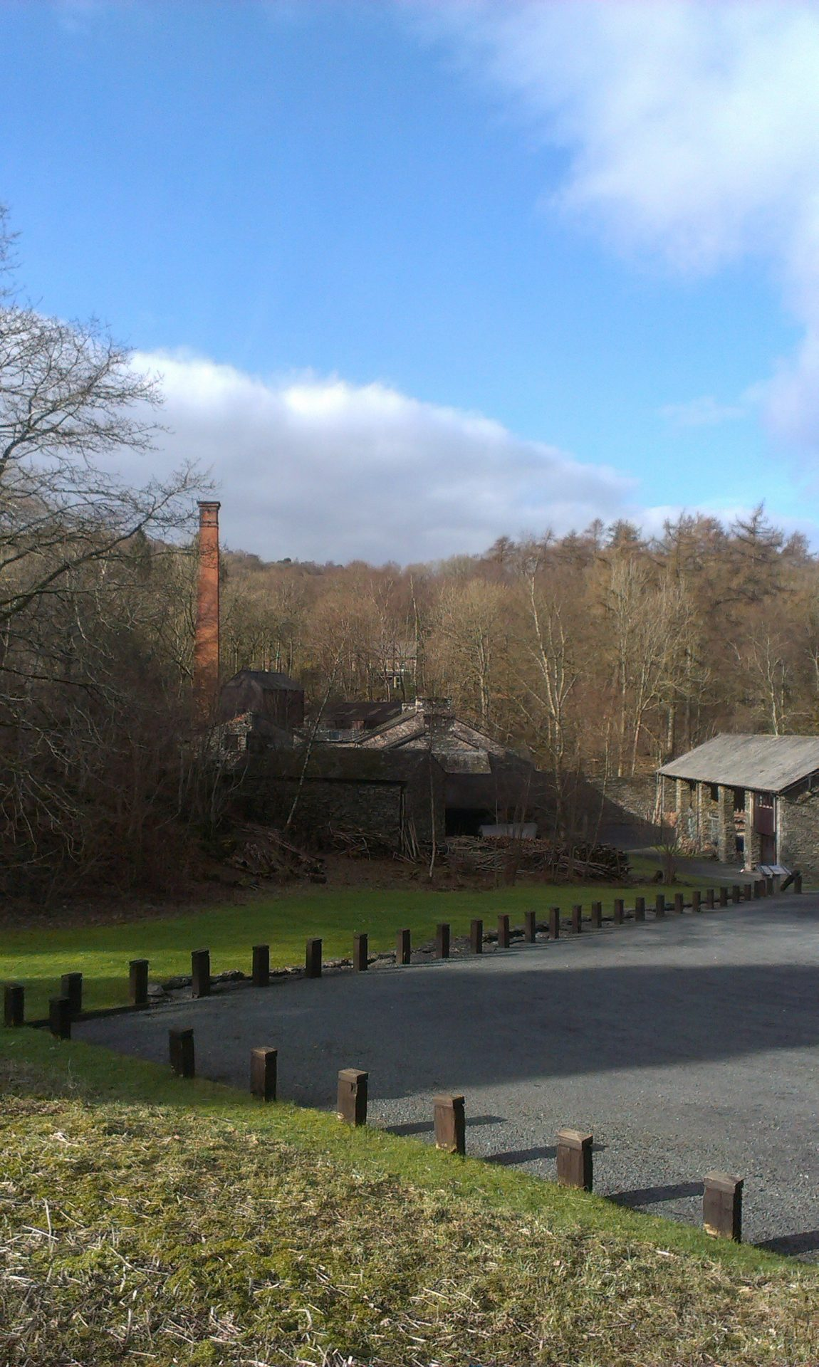 Low Stott park Bobbin Mill